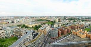 Sikt av Berlin från panorama Punkt Royaltyfri Fotografi