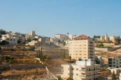 Sikt av Betlehem, Palestina Fotografering för Bildbyråer