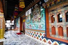 Sikt av Bhutan royaltyfri foto