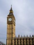 Sikt av Big Ben på mars 19, 2014 i London Royaltyfri Fotografi
