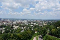 Sikt av Birmingham, Alabama Royaltyfri Fotografi