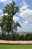 Sikt av Birmingham, Alabama arkivfoton