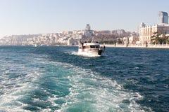 Sikt av Bosphorusen Royaltyfria Bilder