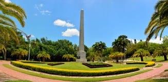 Sikt av botaniska trädgårdar i Rockhampton, Australien royaltyfri fotografi