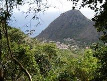 Sikt av botten, Saba Royaltyfria Bilder