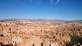 Sikt av Bryce National Park, Utah arkivbild