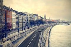 Sikt av Budapest Royaltyfri Bild