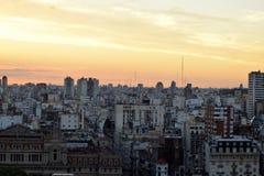 Sikt av Buenos Aires, Argentina, 18th av Februari av 2017 Fotografering för Bildbyråer