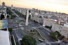 Sikt av Buenos Aires, Argentina, 18th av Februari av 2017 Arkivfoto