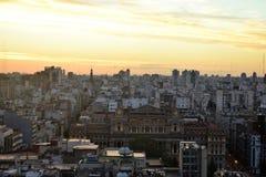 Sikt av Buenos Aires, Argentina, 18th av Februari av 2017 Royaltyfri Bild
