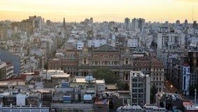 Sikt av Buenos Aires, Argentina, 18th av Februari av 2017 Royaltyfri Foto