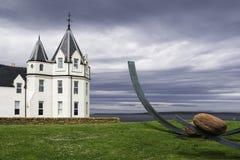 Sikt av byggande för gryn för John nolla-` Royaltyfri Fotografi