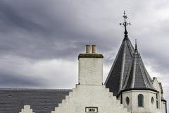 Sikt av byggnad för gryn för John nolla-` en vit Royaltyfria Foton