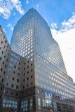 Sikt av byggnader nya USA york Fotografering för Bildbyråer