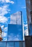 Sikt av byggnader nya USA york Royaltyfria Bilder