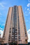 Sikt av byggnader nya USA york Royaltyfri Fotografi