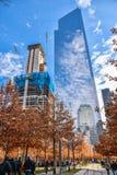 Sikt av byggnader nya USA york Royaltyfri Foto