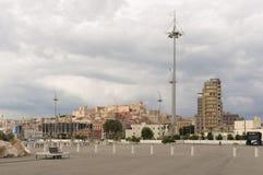 Sikt av Cagliari Fotografering för Bildbyråer