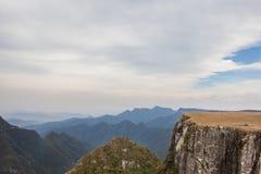 Sikt av Canion Montenegro - rutt av Canionsen Royaltyfri Fotografi