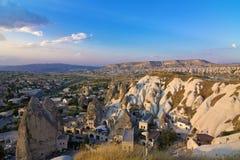 Sikt av cappadociaen Arkivbild