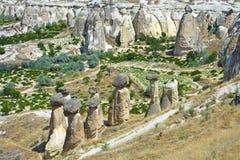 Sikt av cappadociaen Royaltyfria Foton