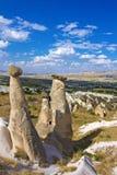 Sikt av cappadociaen Royaltyfri Fotografi
