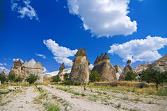 Sikt av cappadociaen Royaltyfria Bilder