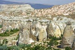 Sikt av cappadociaen Arkivfoto