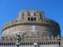 Sikt av Castel Sant 'angelo royaltyfri fotografi