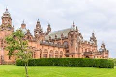 Sikt av centrala Glasgow i Skottland Fotografering för Bildbyråer