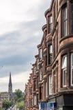 Sikt av centrala Glasgow i Skottland Arkivfoton