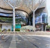 Sikt av centrala Singapore Fotografering för Bildbyråer