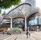 Sikt av centrala Singapore Royaltyfri Fotografi