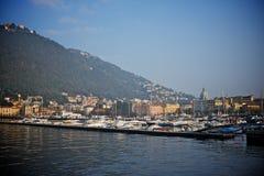 Sikt av comoen, Italien Royaltyfri Bild