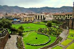 Sikt av Cusco Royaltyfri Foto