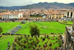 Sikt av Cusco Royaltyfria Bilder