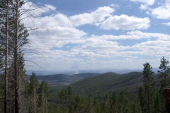 Sikt av dalen Royaltyfri Bild