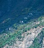 Sikt av Danba, Sichuan 5 Arkivbilder