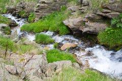 Sikt av de bergdalarna och maxima Fotografering för Bildbyråer