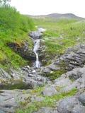 Sikt av de Khibiny bergen på Kola Peninsula av den Murmansk regionen Ryssland royaltyfria bilder