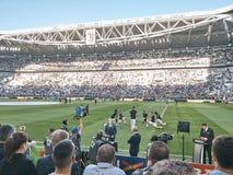 Sikt av den Allianz stadion, det Juventus hemfältet royaltyfri bild