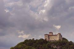 Sikt av den Angera fästningen underifrån, horisontalsnitt Royaltyfri Fotografi