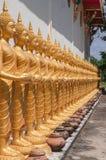 Sikt av den buddha statyn i Thailand Royaltyfri Fotografi