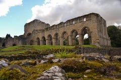 Sikt av den Buildwas abbeyen - Shropshire Arkivbild