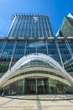 Sikt av den CityPoint skyskrapan, London UK arkivfoto
