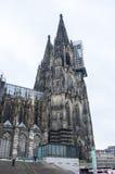 Sikt av den Cologne domkyrkan Royaltyfri Foto