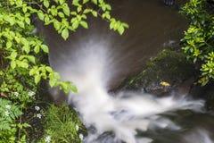 Sikt av den felika Glen Waterfalls Royaltyfria Foton