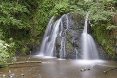 Sikt av den felika Glen Waterfalls Arkivfoton