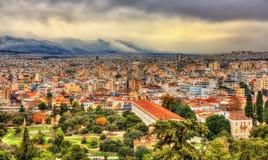 Sikt av den forntida marknadsplatsen av Aten Royaltyfria Foton