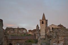 Sikt av den forntida staden Royaltyfria Foton